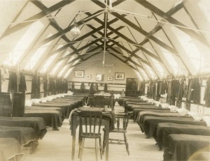Photos of old dormitory at Cranleigh School