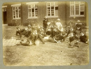 Early Cranleigh Schoolboys in uniform