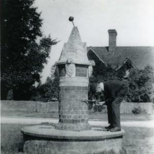 Fountain at Cranleigh around 1905